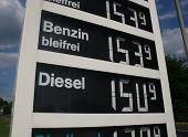 Steigende Benzinpreise
