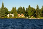 Waterfront home auf Lake washington