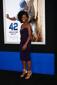 LOS ANGELES - APR 9:  Teyonah Parris arrives at the