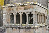 Arbour In The Abbey Of Mont Saint Michel. Normandy, France