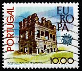 Postage Stamp Portugal 1978 Roman Tower, Belmonte