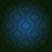 image of brocade  - Damask seamless floral pattern - JPG