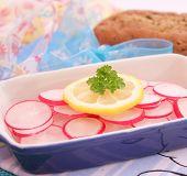salad of red radish