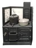 Antique Coal Cooker