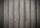 Grooved Wooden Plank Surface Detail