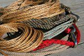 picture of buckaroo  - various ropes - JPG