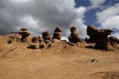Strange Rock Formations At Goblin Valley