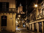 Old town of pamplona