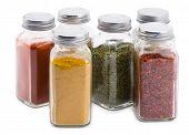 Spice Jars Set