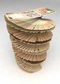Indian Rupee Tower