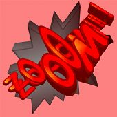 picture of wacky  - A 3 d Cartoon Zooom - JPG