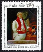Postage Stamp Cuba 1972 Portrait Of Salvador Del Muro