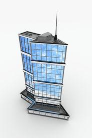 stock photo of commercial building  - Arrow - JPG