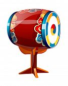 vector icon korean drum