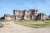Coca Castle, Castillo De Coca In Segovia Province