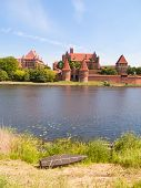 medieval castle in Malbork