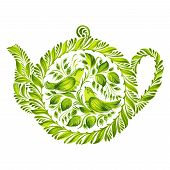 Decorative Ornament Herbal Teapot