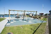 Tauranga, New Zealand waterfront playground