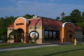 JACKSONVILLE, FL - APRIL 27, 2014: A Taco Bell fast-food restaurant in Jacksonville. Taco Bell serve