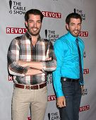 LOS ANGELES - APR 30:  Jonathan Scott, Drew Scott at the NCTA's Chairman's Gala Celebration of Cable