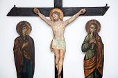 Crucifixion Scene Of Jesus