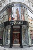 Swarovski Shop In Vienna