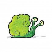 cartoon magic snail