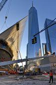 World Trade Center Construction, Manhattan, New York