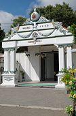 The Danapratapa gate one gate inside Yogyakarta Sultanate Palace