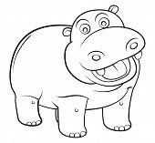 hippos Cartoon