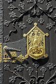 Wooden Gate, Frankfurter Romer, Frankfurt Am Main