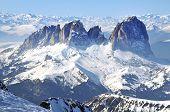 Marmolada Ski Resort In Italy