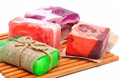 Different Handmade Soaps