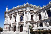 VIENNA, AUSTRIA-July 3 : Viennese Classical style building on July 3, 2014.Vienna, Austria, Europe