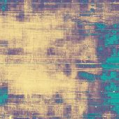Abstract grunge background of old texture. With yellow, violet, blue patterns