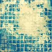 Rough vintage texture. With yellow, blue, gray patterns