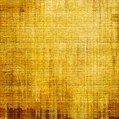 Grunge aging texture, art background. With yellow, brown, orange patterns