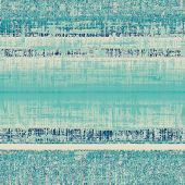 Old texture - perfect background with space for your text or image. With blue patterns