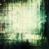Vintage textured background. With green, gray, black patterns