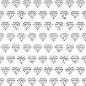 Diamond pattern background