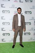 LOS ANGELES - OCT 18:  Josh Bowman at the 2014 Environmental Media Awards at Warner Brothers Studios on October 18, 2014 in Burbank, CA