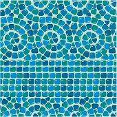 image of ceramic tile  - Seamless mosaic pattern  - JPG