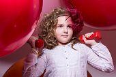 Girl Schoolgirl Involved With Dumbbells
