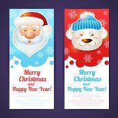 Christmas banner vertical