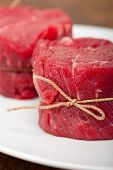 Raw Beef Filet Mignon