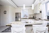 Beautiful Kitchen In Vintage Style