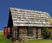Old Rustic Log Cabin