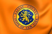 Flag Of Nassau County, Usa.