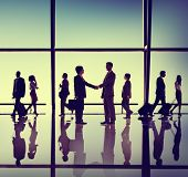 Business People Meeting Handshake Concept