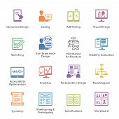 SEO & Usability Icons Set 2 - Colore? Series